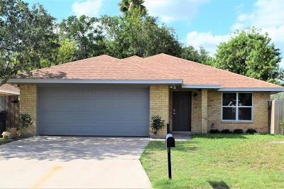 McAllen Single Family Home For Sale: 2028 Mynah Avenue
