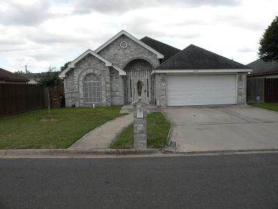 Edinburg Single Family Home For Sale: 2600 Guajillo Street