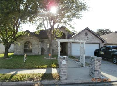 Pharr Single Family Home For Sale: 3407 Vodka Drive