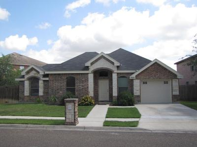 Edinburg Single Family Home For Sale: 3731 Los Lagos Drive