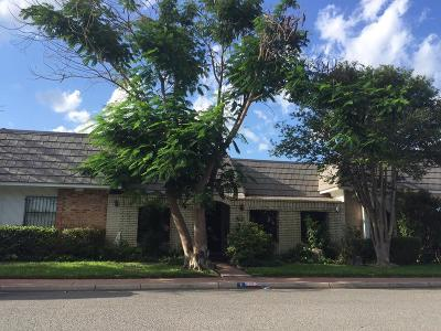 McAllen TX Single Family Home For Sale: $137,000