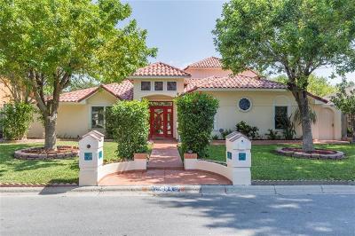 McAllen TX Single Family Home For Sale: $289,000