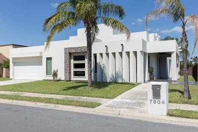 McAllen TX Single Family Home For Sale: $329,900