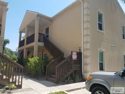 South Padre Island Condo/Townhouse For Sale: 111 E Campeche Street #7