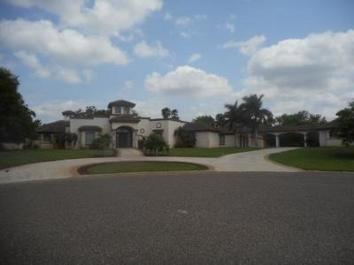 Mission Single Family Home For Sale: 1609 The Woods Drive