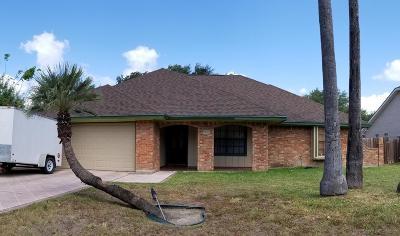 McAllen TX Single Family Home For Sale: $163,900