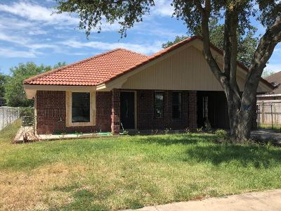 McAllen TX Single Family Home For Sale: $149,999