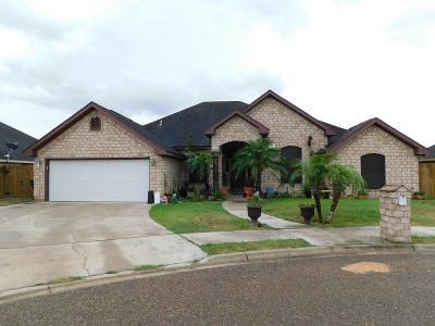 Pharr Single Family Home For Sale: 916 E Dorothy Circle