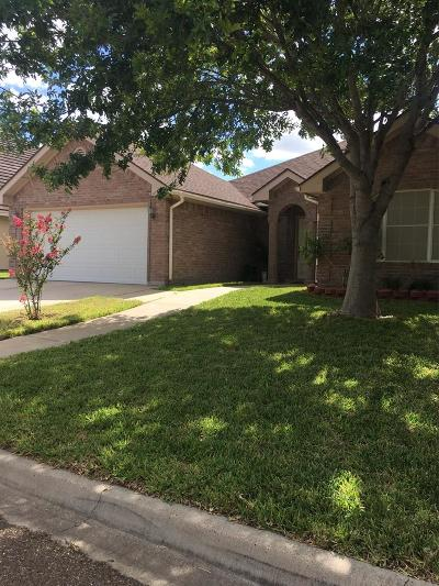 McAllen TX Single Family Home For Sale: $149,900