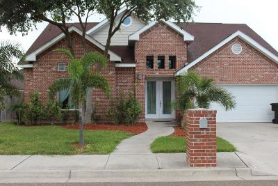 McAllen TX Single Family Home For Sale: $210,000