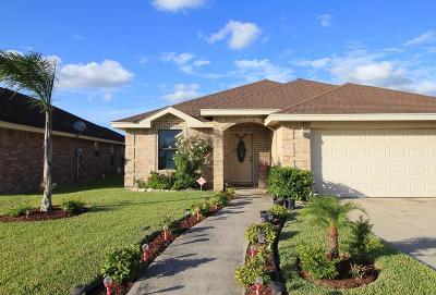 Edinburg Single Family Home For Sale: 3435 Los Lagos Drive