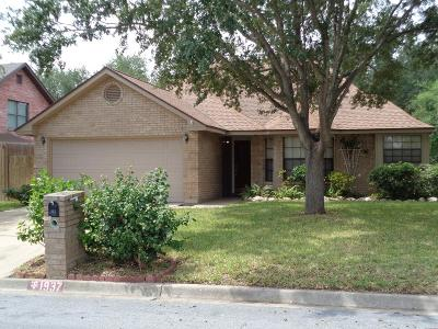 McAllen TX Single Family Home For Sale: $139,500