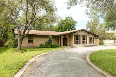 McAllen TX Single Family Home For Sale: $237,000