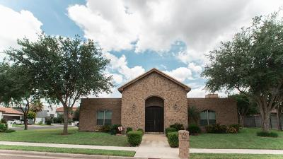 McAllen TX Single Family Home For Sale: $387,700