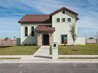 McAllen TX Single Family Home For Sale: $259,999