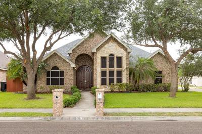 McAllen TX Single Family Home For Sale: $167,000