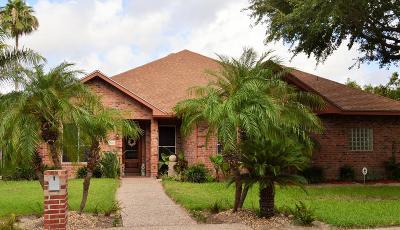 McAllen TX Single Family Home For Sale: $255,000