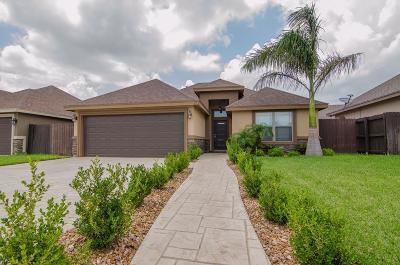 McAllen TX Single Family Home For Sale: $175,000