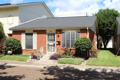 McAllen TX Single Family Home For Sale: $125,000
