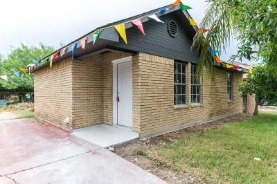 Pharr Single Family Home For Sale: 803 W Blue Jay Avenue