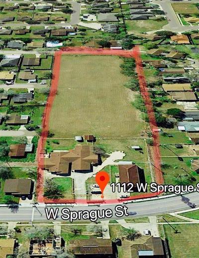 Edinburg Multi Family Home For Sale: 1112 W Sprague Street