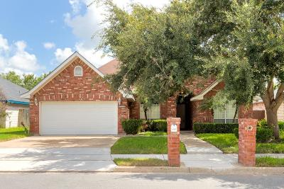 McAllen TX Single Family Home For Sale: $170,500