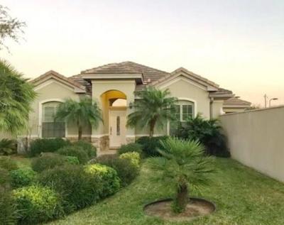 McAllen TX Single Family Home For Sale: $275,000