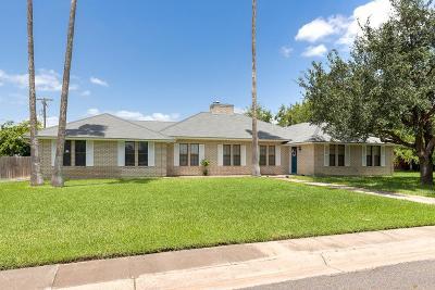 Harlingen Single Family Home For Sale: 1632 Henderson Street