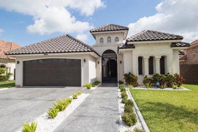 McAllen TX Single Family Home For Sale: $289,900