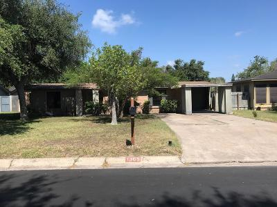 McAllen TX Single Family Home For Sale: $64,900