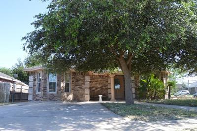 Pharr Single Family Home For Sale: 914 E San Pedro Street