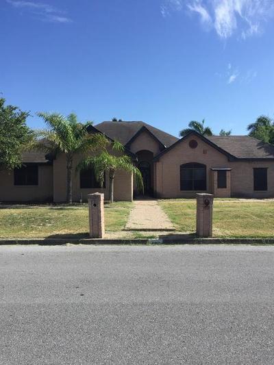 McAllen TX Single Family Home For Sale: $243,900