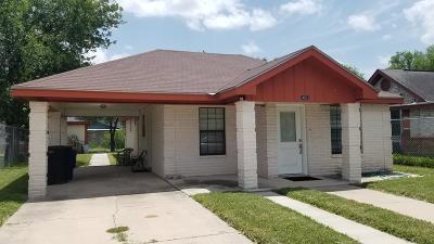 McAllen TX Single Family Home For Sale: $190,000