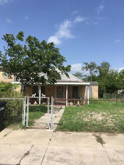 McAllen TX Single Family Home For Sale: $59,900