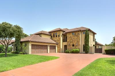 McAllen TX Single Family Home For Sale: $495,000