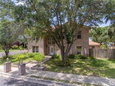 McAllen TX Single Family Home For Sale: $320,000