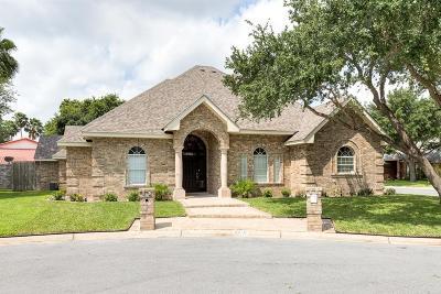McAllen TX Single Family Home For Sale: $325,000
