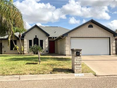 McAllen TX Single Family Home For Sale: $132,000