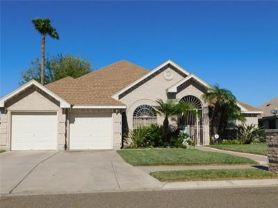 McAllen TX Single Family Home For Sale: $172,500