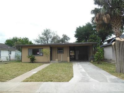 McAllen TX Single Family Home For Sale: $119,900