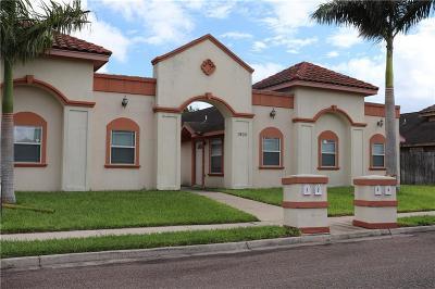 Pharr Multi Family Home For Sale: 1900 W Douglas Street