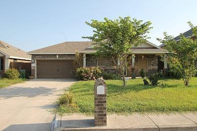 Weslaco Single Family Home For Sale: 2209 W Bald Cypress Drive