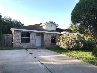 Weslaco Single Family Home For Sale: 3903 Agassi Drive