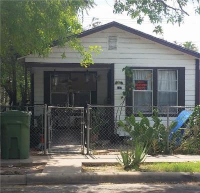 Weslaco Single Family Home For Sale: 107 N Kansas Avenue