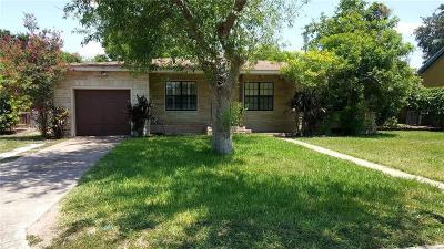 Pharr Single Family Home For Sale: 805 S Richmond Drive