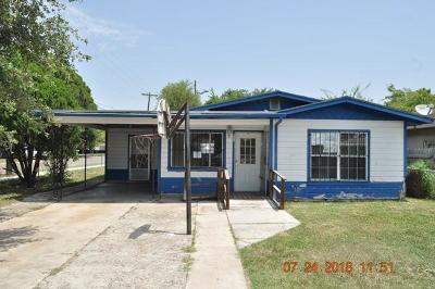 Edinburg Single Family Home For Sale: 901 E Peter Street