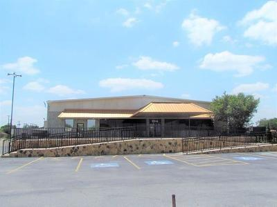 Alamo Commercial For Sale: 106 N 9th Street