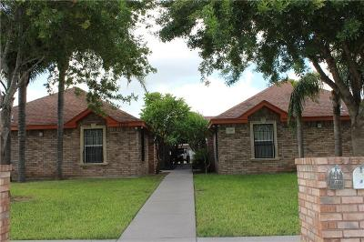 Edinburg Multi Family Home For Sale: 1720 Agua Fina Avenue