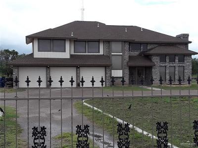 Edinburg Single Family Home For Sale: 17012 N Hoehn Road