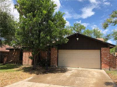 McAllen TX Single Family Home For Sale: $178,000